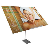 "360 Banner Display Kit 48"" x 72"""