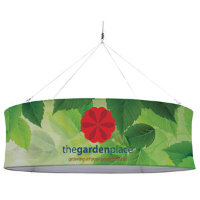 12' Round EuroFit Fabric Hanging Banner Kit