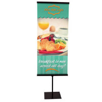 "30"" Everyday Snap Rail Banner Display Kit"