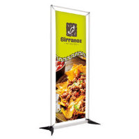 "23.5"" x 67"" FrameWorx Banner Display Kit, Double-Sided"