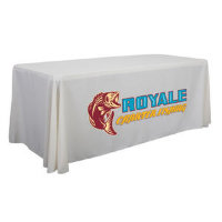 6' Economy Table Throw Dye-Sublimated (Full-Color, Front Only)