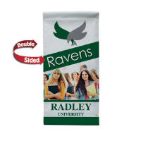 "24"" x 48"" 18 oz. Opaque Material Boulevard Double-Sided Banner"