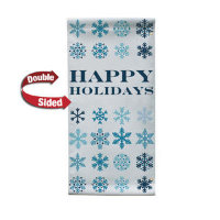 "30"" x 60"" 18 oz. Opaque Material Boulevard Double-Sided Banner"
