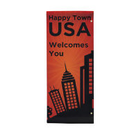 "30"" x 72"" 18 oz. Opaque Material Boulevard Single-Sided Banner"
